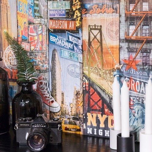 d-c-fix Decors New York Manhattan Self Adhesive Film 67.5cm x 2m 346-8140