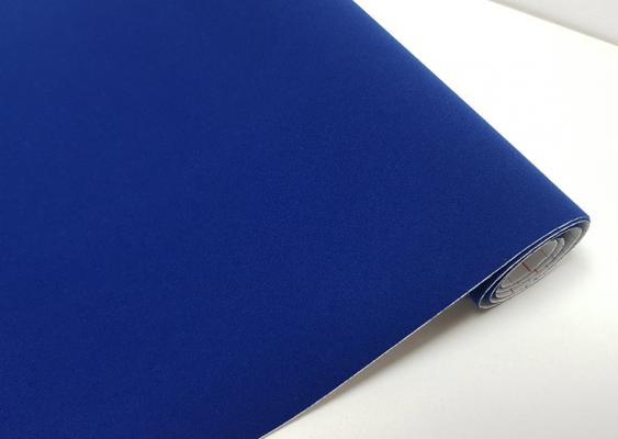 1mx45cm AIR BLUE MATT VINYL FILM WRAP STICKY BACK PLASTIC SELF ADHESIVE D C FIX